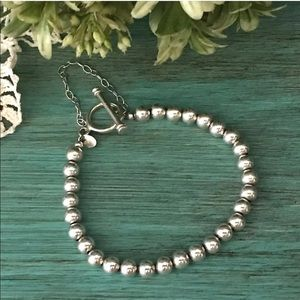 Silpada B0059 RARE Sterling Silver Bead Bracelet